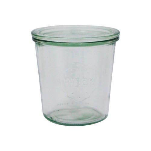 JAR GLASS W/LID 580ML 100X107MM WECK