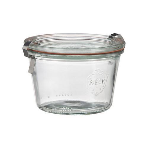 JAR GLASS W/LID 80ML 60X55MM WECK