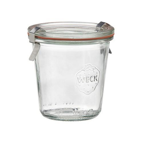 JAR GLASS W/LID 140ML 60X70MM WECK