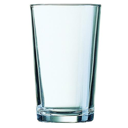 TUMBLER GLASS 280ML TEMPERED CONIQUE ARCOROC