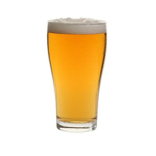 BEER GLASS 425ML CERTIFIED TEMPERED & NUCLEATED CONICAL ARCOROC