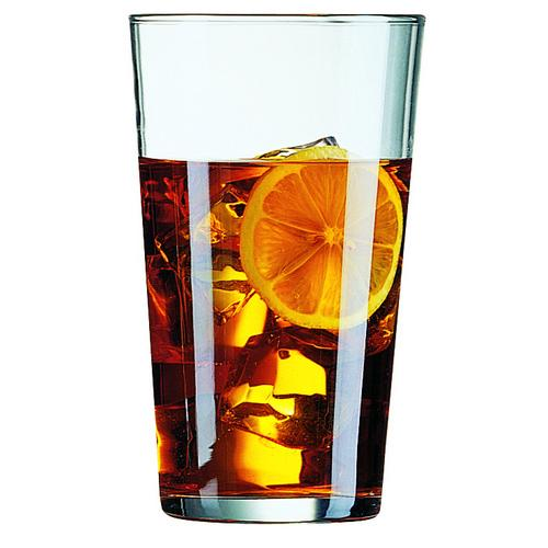 BEER GLASS 560ML PINT CERTIFIED TEMPERED & NUCLEATED CONIQUE ARCOROC