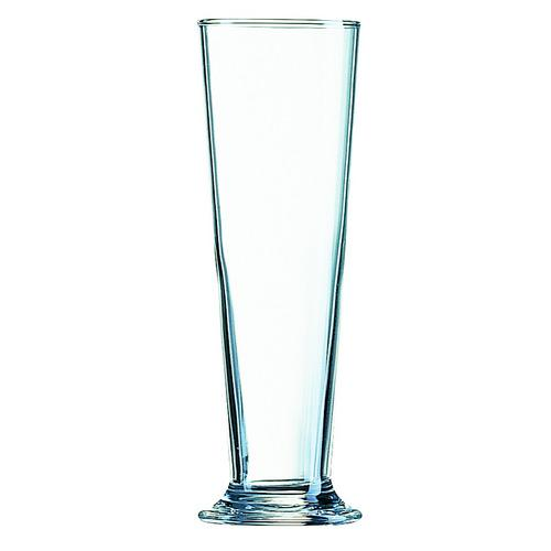 BEER GLASS 390ML CERTIFIED & NUCLEATED LINZ ARCOROC