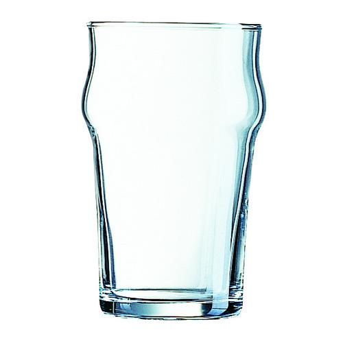 BEER GLASS 570ML PINT CERTIFIED & NUCLEATED NONIC ARCOROC