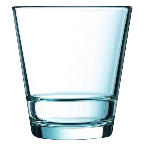 OLD FASHION GLASS 260ML STACK UP ARCOROC