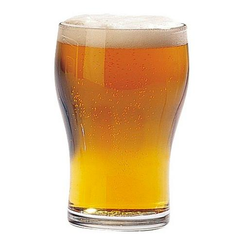 BEER GLASS 425ML CERTIFIED TEMPERED & NUCLEATED WASHINGTON ARCOROC