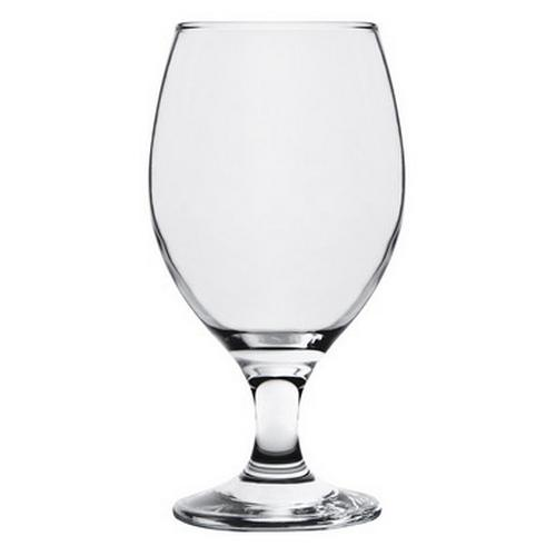 LAGER GLASS 370ML CRYSTA III CROWN