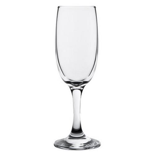 CHAMPAGNE FLUTE 190ML CRYSTA III CROWN