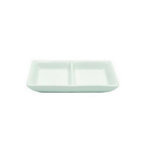 DISH DIVIDED 2 101X63MM CLASSIC WARE