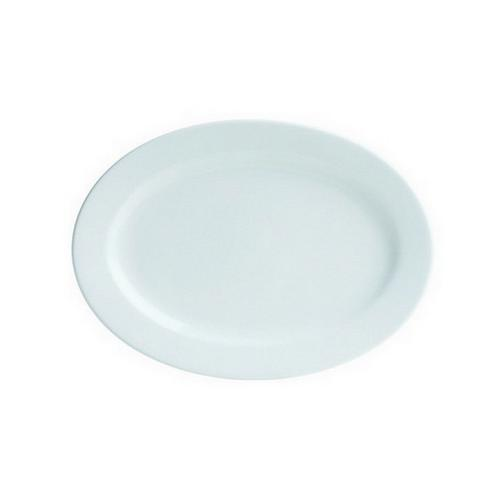 PLATE OVAL 300MM CLASICWARE