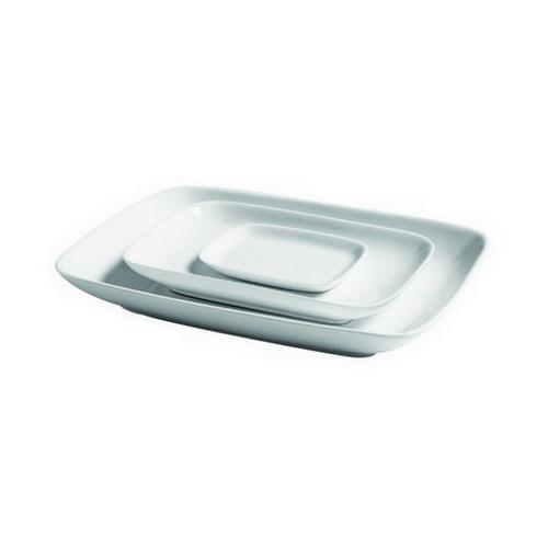PLATTER RECT ROUNDED 203X132MM CLASSICWARE