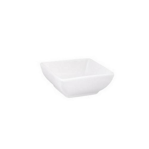DISH SAUCE SQUARE CURVED 70MM CLASSIC WARE