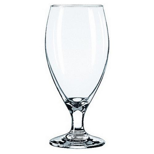 BEER GLASS 436ML TEARDROP LIBBEY
