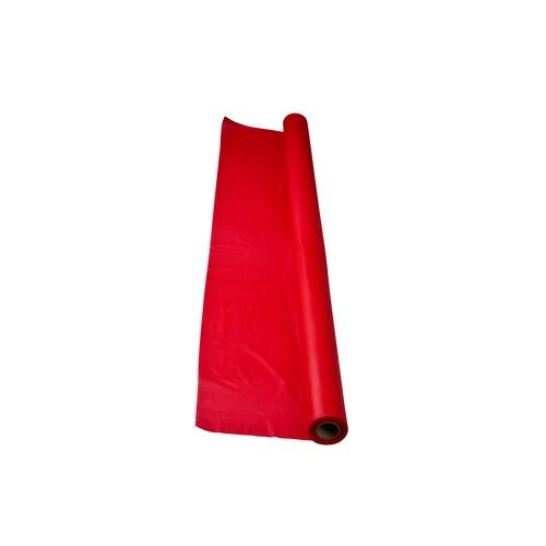 TABLE COVER ROLL PLASTIC RED 1.2X30M ALPEN