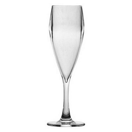 CHAMPAGNE FLUTE POLY 200ML POLYSAFE