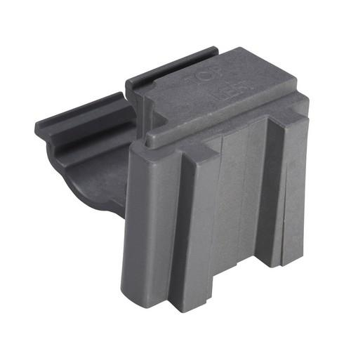 CAMSHELVING ELEMENTS BOTTOM POST CONNECTOR 610MM CAMBRO