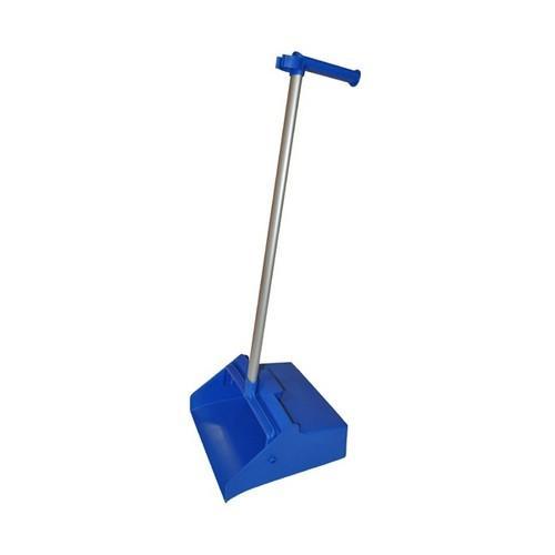 DUSTPAN LOBBY PLASTIC W/PISTOL GRIP BLUE EDCO