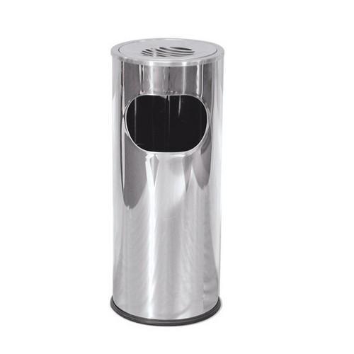 ASHTRAY / LITTERBIN S/S W/INSERT 250x600mm