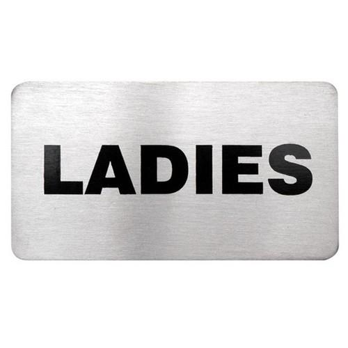 SIGN - LADIES S/S 110X60MM