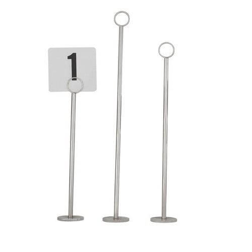 TABLE NUMBER STAND 450MM RING 40MM BASE
