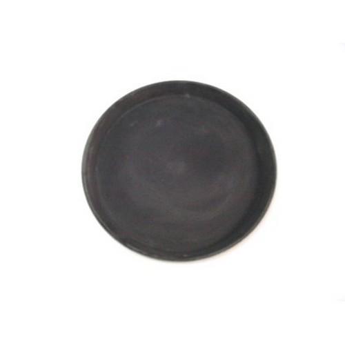TRAY NON SLIP F/GLASS ROUND 280MM BLACK CAMTREAD