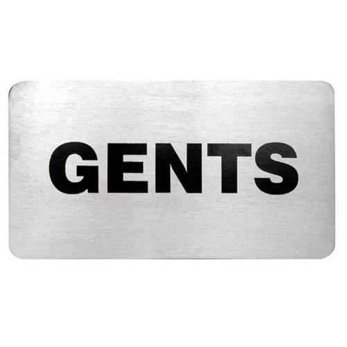 SIGN - GENTS S/S 110X60MM