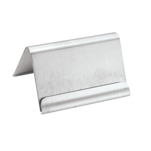 CARD HOLDER BUFFET S/S 60X40MM A-FRAME