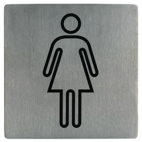 SIGN - FEMALE SYMBOL S/S 130X130MM