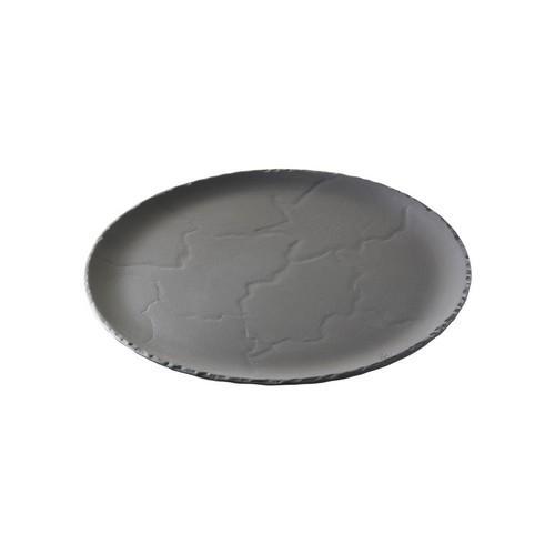 PLATE ROUND 285MM BASALT REVOL