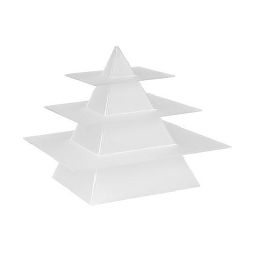 DISPLAY STAND PYRAMID SHAPE FOR MINI PLASTIC ITEMS