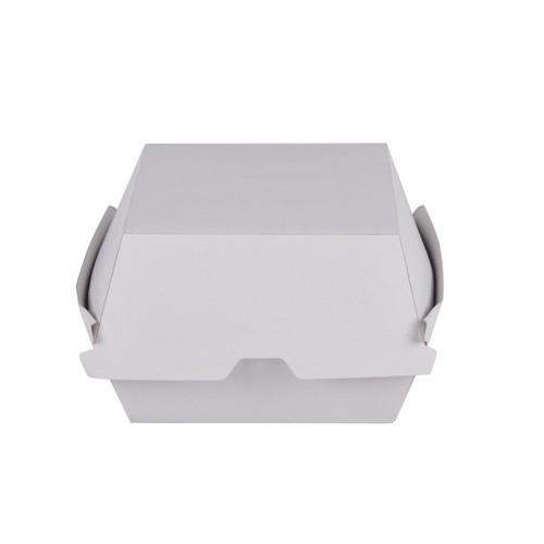 BURGER CLAM BOARD WHITE REDISERVE 105X105X83MM (CT400)