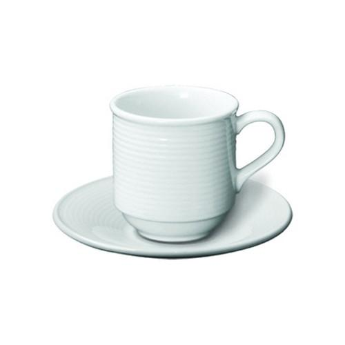 SAUCER FOR  ESPRESSO STACKABLE AURA RENE OZORIO