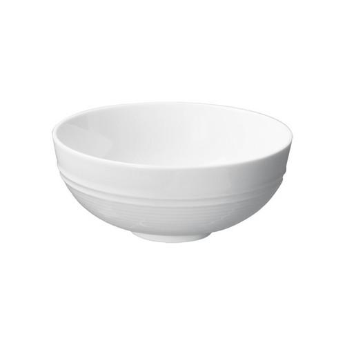 BOWL ROUND RICE FOOTED 130MM AURA RENE OZORIO