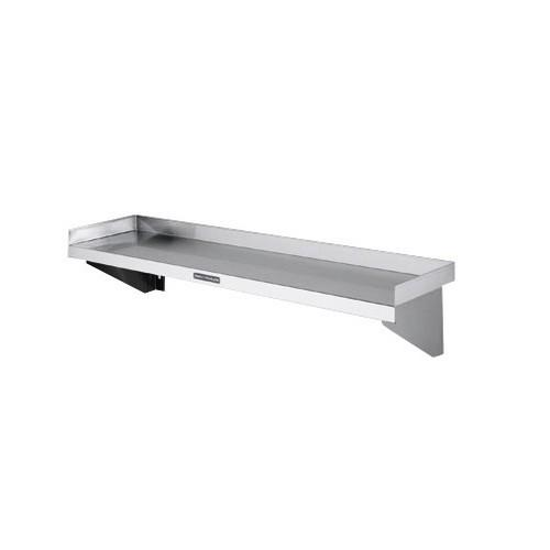 SHELF WALL S/S SOLID 900X300MM SIMPLY STAINLESS