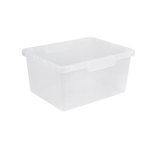 CRATE / BIN HANDEE 15L 385X300X190MM CLEAR NALLY