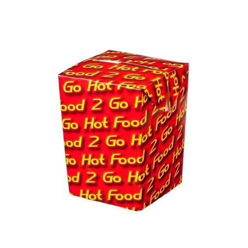 CHIP BOX BOARD SMALL HOT FOOD 2 GO 75X75X100MM (CT500)