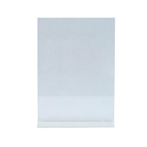 MENU STAND A4 ACRYLIC CLEAR 210X297MM
