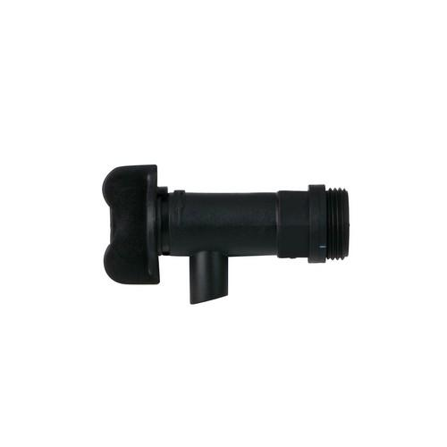 DRUM TAP PLASTIC BLACK FOR 15/20/25L CLEAN PLUS