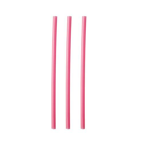 STRAW COCKTAIL PLASTIC RED 135MM (CT5000)