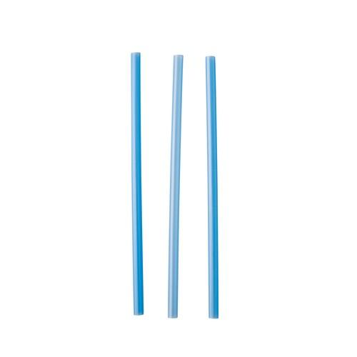 STRAW COCKTAIL PLASTIC BLUE 135MM (CT5000)