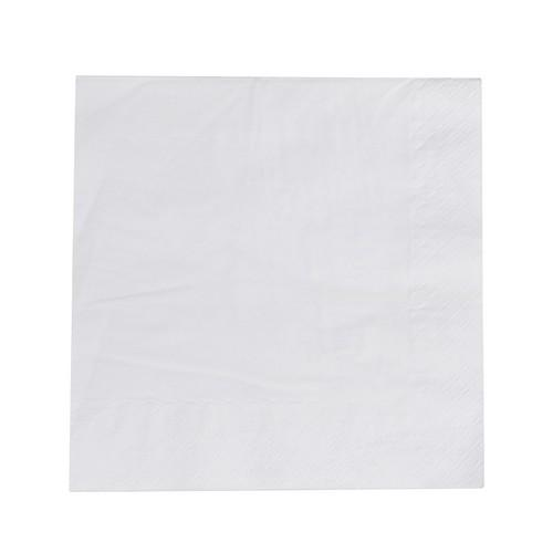 NAPKIN DINNER 2PLY WHITE 400X400MM ULTIMATE (CT1000)