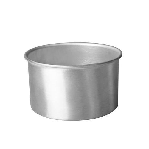 CAKE PAN ALUM ROUND 200X50MM CHEF INOX