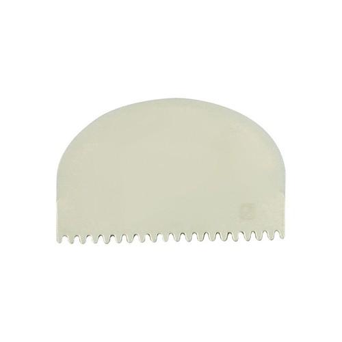 SCRAPER / COMB POLY ROUND TEETH 100X72MM THERMO