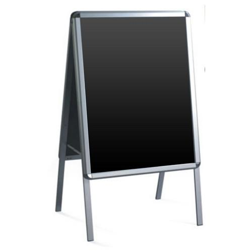 POSTER DISPLAY SNAP FRAME A1 ALUM / PVC 900X655MM A-FRAME