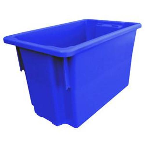 CRATE STORAGE #15 68L 645x413x397MM BLUE NALLY