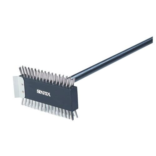 GRILL BRUSH S/S XHD LONG 780MM BROILER MASTER CARLISLE
